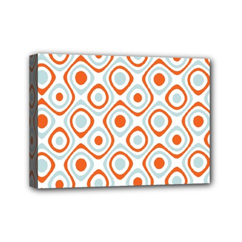Pattern Background Abstract Mini Canvas 7  X 5  by Simbadda