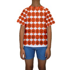 Icon Library Web Icons Internet Social Networks Kids  Short Sleeve Swimwear by Simbadda