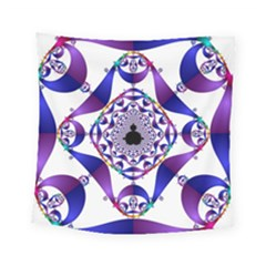 Ring Segments Square Tapestry (small) by Simbadda