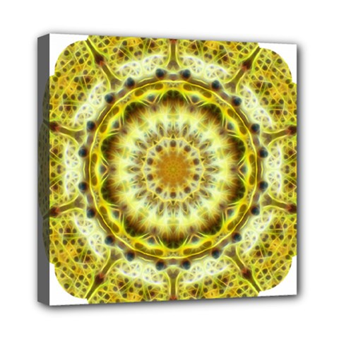 Fractal Flower Mini Canvas 8  X 8  by Simbadda
