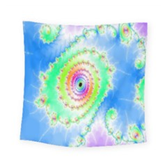 Decorative Fractal Spiral Square Tapestry (small) by Simbadda