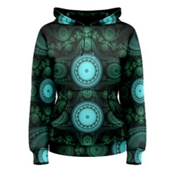 Grand Julian Fractal Women s Pullover Hoodie by Simbadda