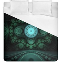 Grand Julian Fractal Duvet Cover (king Size) by Simbadda