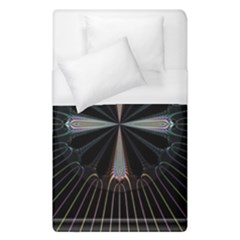 Fractal Rays Duvet Cover (single Size)