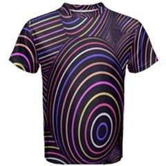 Abstract Colorful Spheres Men s Cotton Tee by Simbadda