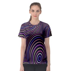 Abstract Colorful Spheres Women s Sport Mesh Tee by Simbadda