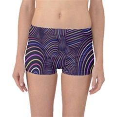Abstract Colorful Spheres Boyleg Bikini Bottoms