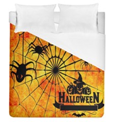 Halloween Weird  Surreal Atmosphere Duvet Cover (queen Size) by Simbadda