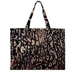 Wallpaper Texture Pattern Design Ornate Abstract Zipper Mini Tote Bag