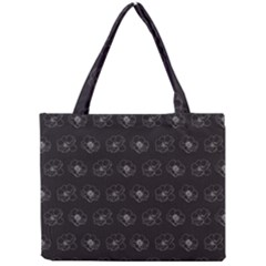 Floral Pattern Mini Tote Bag by Valentinaart