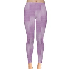Purple Pattern Leggings  by Valentinaart