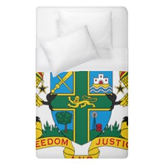 Coat Of Arms Of Ghana Duvet Cover (single Size) by abbeyz71