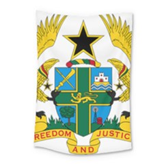 Coat Of Arms Of Ghana Small Tapestry by abbeyz71