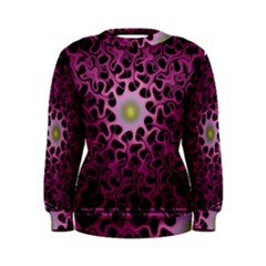 Cool Fractal Women s Sweatshirt by Simbadda