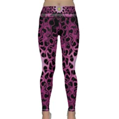 Cool Fractal Classic Yoga Leggings by Simbadda