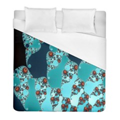 Decorative Fractal Background Duvet Cover (full/ Double Size) by Simbadda
