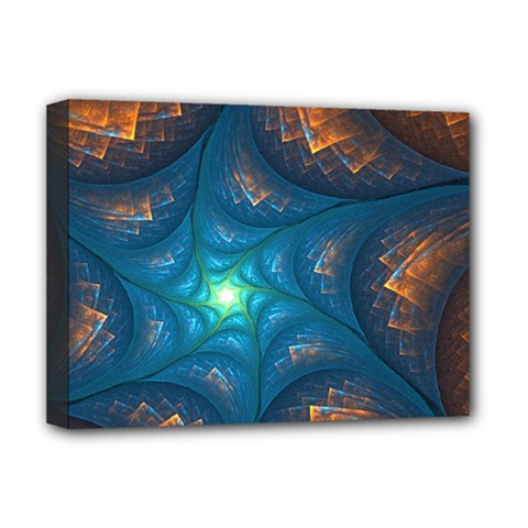 Fractal Star Deluxe Canvas 16  X 12
