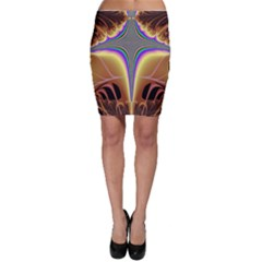 Symmetric Fractal Bodycon Skirt by Simbadda