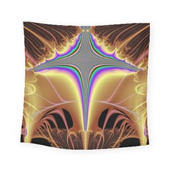 Symmetric Fractal Square Tapestry (small) by Simbadda
