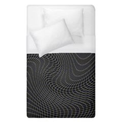 Distorted Net Pattern Duvet Cover (single Size) by Simbadda