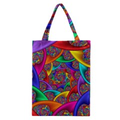 Color Spiral Classic Tote Bag