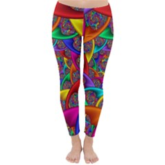 Color Spiral Classic Winter Leggings by Simbadda