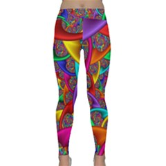 Color Spiral Classic Yoga Leggings by Simbadda