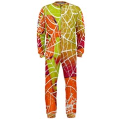 Orange Guy Spider Web Onepiece Jumpsuit (men)  by Simbadda