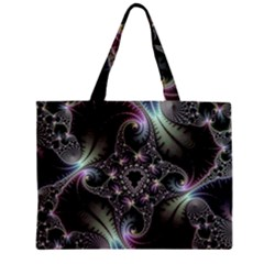 Beautiful Curves Zipper Mini Tote Bag by Simbadda