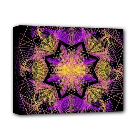 Pattern Design Geometric Decoration Deluxe Canvas 14  X 11  by Simbadda