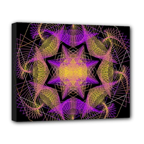 Pattern Design Geometric Decoration Deluxe Canvas 20  X 16