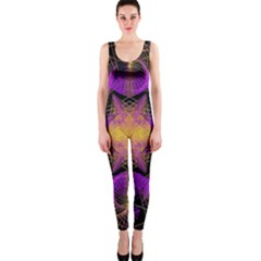 Pattern Design Geometric Decoration Onepiece Catsuit by Simbadda