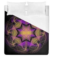 Pattern Design Geometric Decoration Duvet Cover (queen Size) by Simbadda