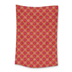 Abstract Seamless Floral Pattern Small Tapestry by Simbadda
