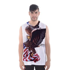 Independence Day United States Men s Basketball Tank Top