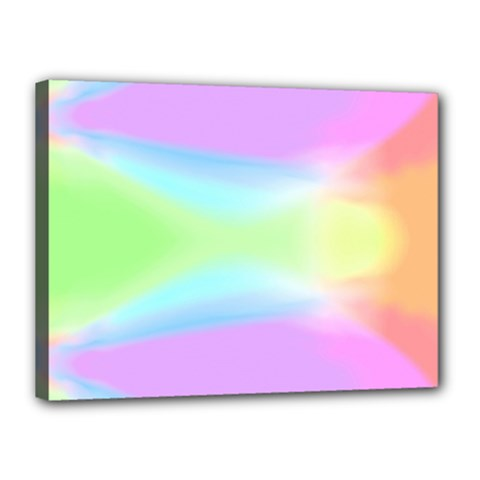 Abstract Background Colorful Canvas 16  X 12  by Simbadda