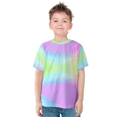 Abstract Background Colorful Kids  Cotton Tee