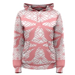 Pink Plaid Circle Women s Pullover Hoodie