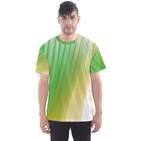 Folded Paint Texture Background Men s Sport Mesh Tee by Simbadda