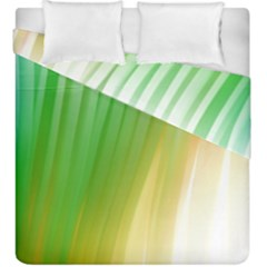 Folded Paint Texture Background Duvet Cover Double Side (king Size) by Simbadda