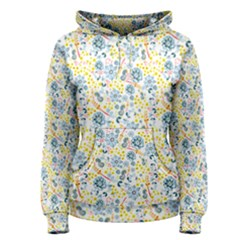 Flower Floral Bird Peacok Sunflower Star Leaf Rose Women s Pullover Hoodie