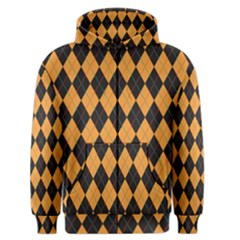 Plaid Triangle Line Wave Chevron Yellow Red Blue Orange Black Beauty Argyle Men s Zipper Hoodie