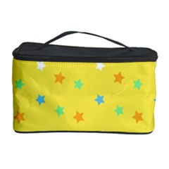 Star Rainbow Coror Purple Gold White Blue Yellow Cosmetic Storage Case