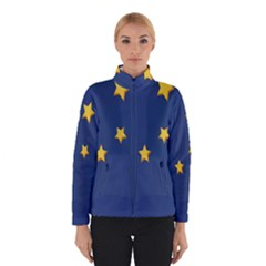 Starry Star Night Moon Blue Sky Light Yellow Winterwear