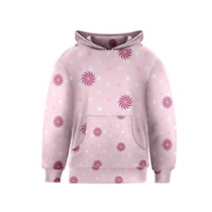 Star White Fan Pink Kids  Pullover Hoodie