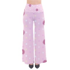 Star White Fan Pink Pants