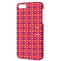 Roll Circle Plaid Triangle Red Pink White Wave Chevron Apple iPhone 5 Hardshell Case with Stand View3