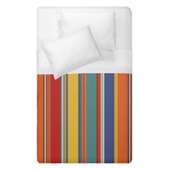 Stripes Background Colorful Duvet Cover (single Size) by Simbadda