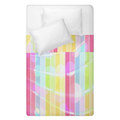 Abstract Stripes Colorful Background Duvet Cover Double Side (single Size)