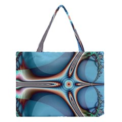 Fractal Beauty Medium Tote Bag by Simbadda